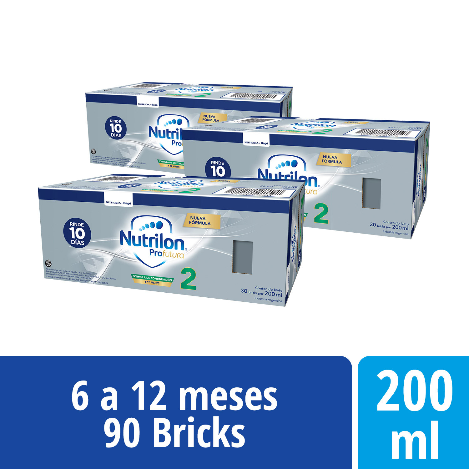Pack Nutrilon Profutura 2 - Brick 200 ml