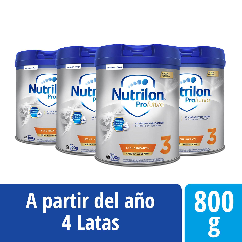 Pack Nutrilon Profutura 3 - Lata 800 g