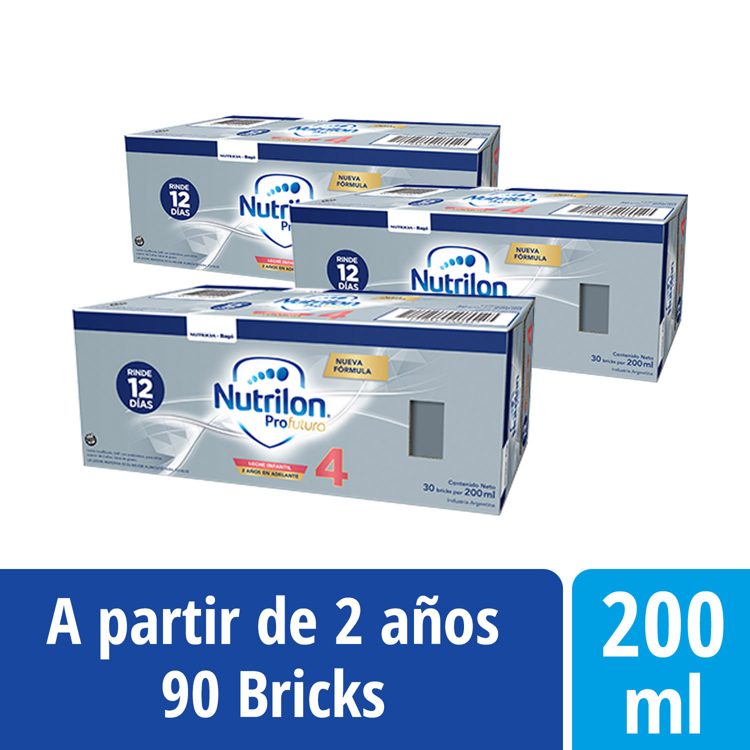 Pack Nutrilon Profutura 4 - Brick 200 ml