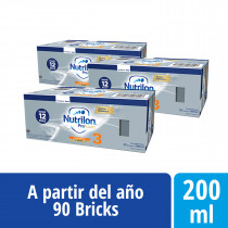 Pack Nutrilon Profutura 3 - Brick 200 ml