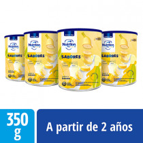 Pack Nutrilon Sabores Banana - Lata 350 g