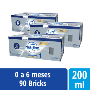 Pack Nutrilon Profutura 1 - Brick 200 ml