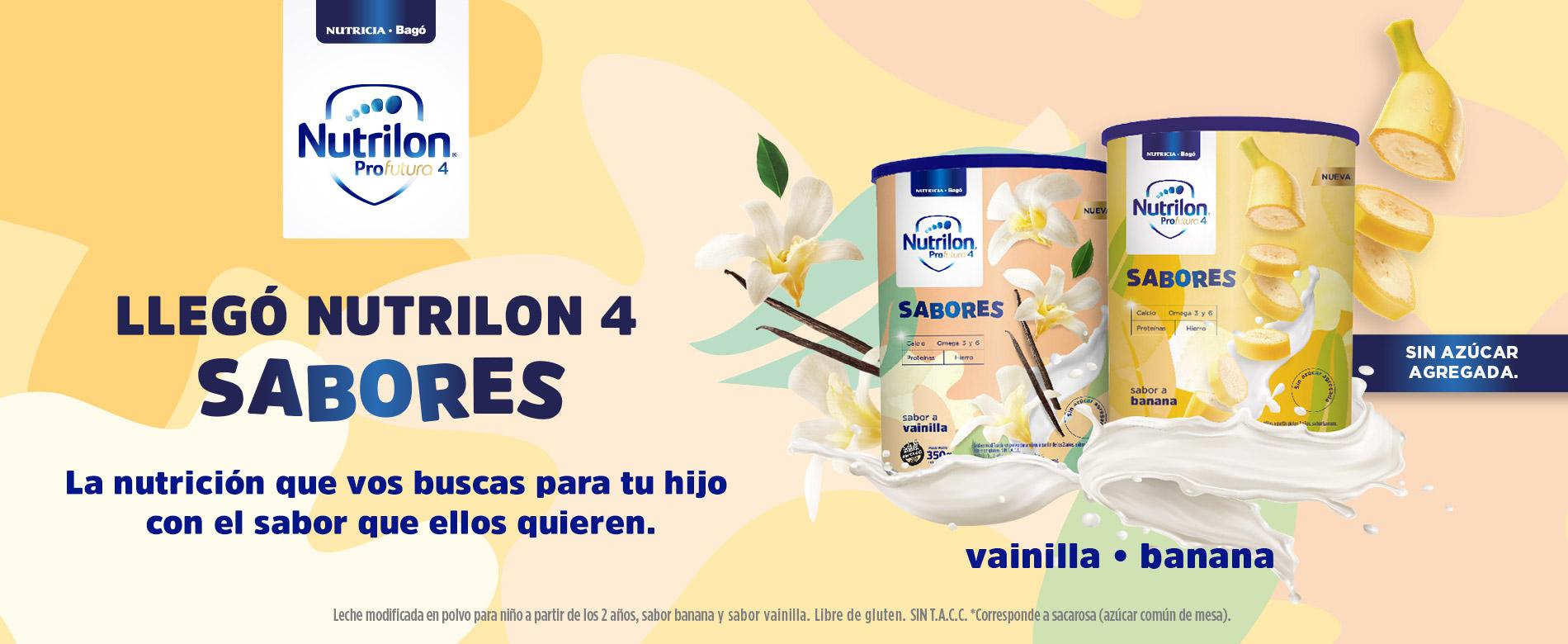 Nutrilon Sabores - Vainilla y Banana